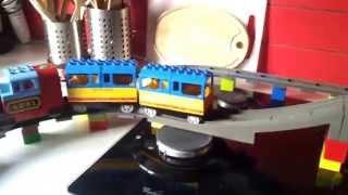 Lego Duplo Train - Story 1: Bridge And Kitchen Revolution - Largest Train Layout