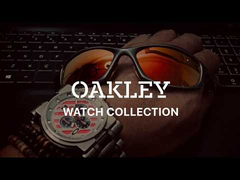 Oakley Watch Collection