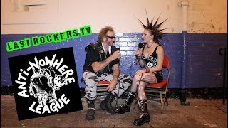 """ANTI-NOWHERE LEAGUE: Metallica + The Importance of the Word """"C*NT"""" interview"""