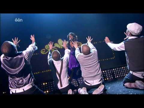 Eurosong Sandrine - I Feel The Same Way