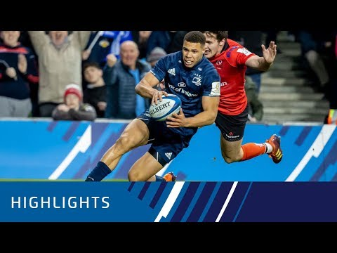 Leinster Rugby v Ulster Rugby Quarter-final Highlights 30.03.19