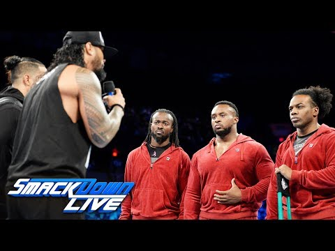The Usos offer The New Day a truce: SmackDown LIVE, Oct. 10, 2017