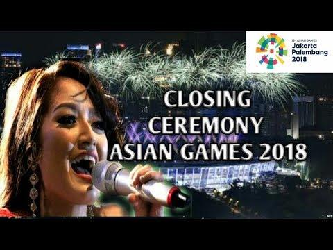 Siti Badriyah - Lagi syantik, Closing Ceremony Asian Games 2018