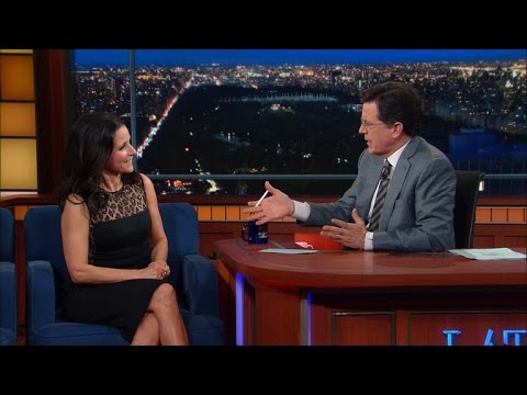 Julia Louis-Dreyfus Had A Long Talk With Joe Biden - YouTube