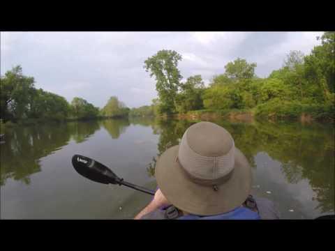 Kayaking the Huron River Ohio