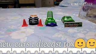 Mattel new (cars 1 die-cast toys)😀😁🙂😉