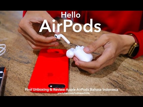 Airpods Unboxing & Review Indonesia - Indratechlife