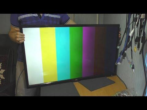 ДЕШЁВЫЙ РЕМОНТ: Телевизор JVC LT-40M640 / Затемнена правая часть экрана