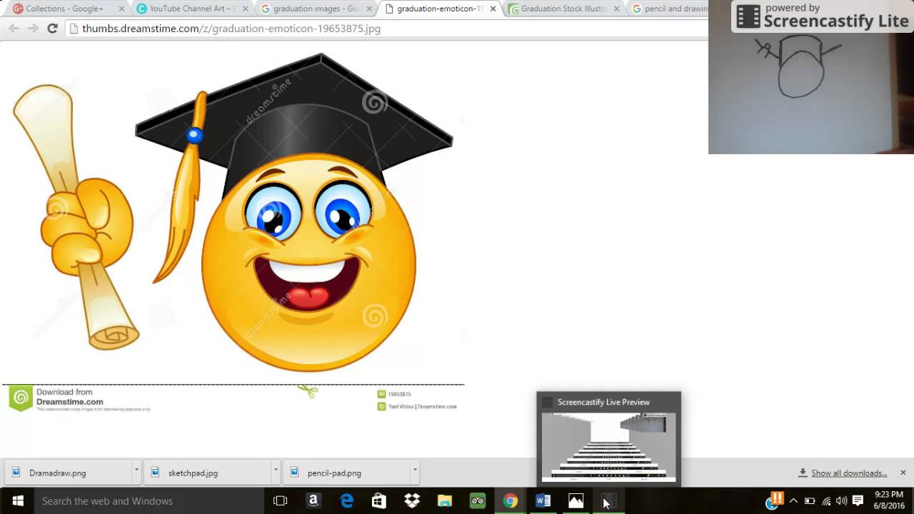 Pics photos how to draw a graduation hat - How To Draw Graduation Emoji Pt 1