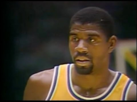 "Magic ""Tragic"" Johnson Chokes - 1984 NBA Finals"