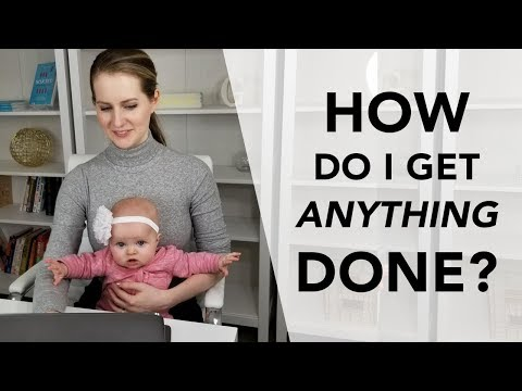 How I Work at Home With THREE KIDS