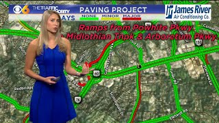 Video Traffic Report: Major Paving Project on Powhite Pkwy download MP3, 3GP, MP4, WEBM, AVI, FLV Agustus 2018