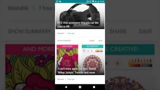 PaperBoy : A Feedly NewsReader