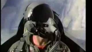 F-16 vs F-14 in a Dog Fight  - US Navy