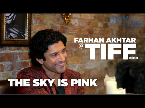 Farhan Akhtar talks to acv about The Sky is Pink - 'an important film'