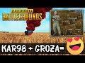 GROZA + KAR im GHILLIE - PUBG Twitch Stream Highlight Gameplay German Deutsch