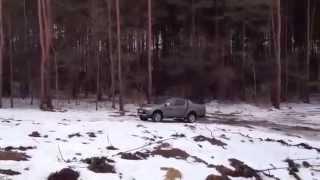Mitsubishi L200 Бездорожье Тест Драйв
