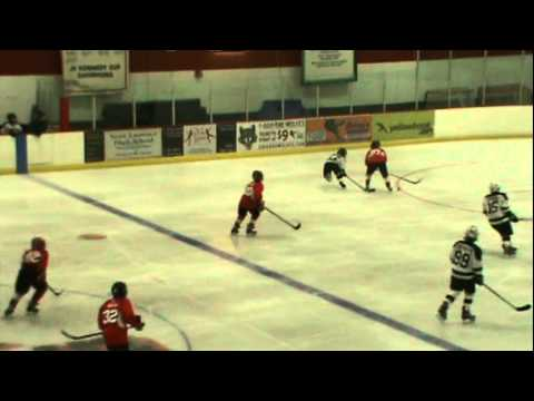 peewee red vs. st. jude knights