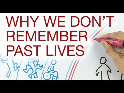 WHY WE DON'T REMEMBER OUR PAST LIVES explained by Hans Wilhelm