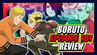 Boruto vs Hokage Naruto Begins & Kashin Koji's Deadly Attack! Boruto Episode 181 Review!