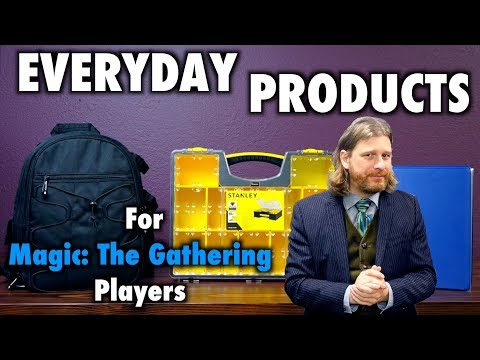 Everyday Products for Magic: The Gathering, Pokemon, and other TCG Players