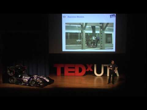 Formula SAE and race car technology | Dr. Bob Woods | TEDxUTA