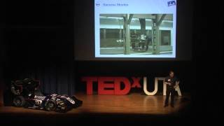 Formula SAE and race car technology | Dr. Bob Woods | TEDxUTA