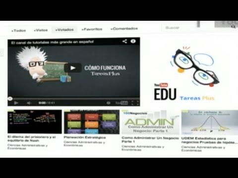 YouTube EDU: el canal educativo de YouTube