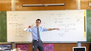 Finding a Normal to a Rational Function