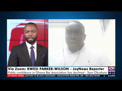 Public confidence in Ghana Bar Association has declined - Joy News Prime (14-9-21)