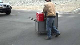 Gas turbine powered Millwright tool box.