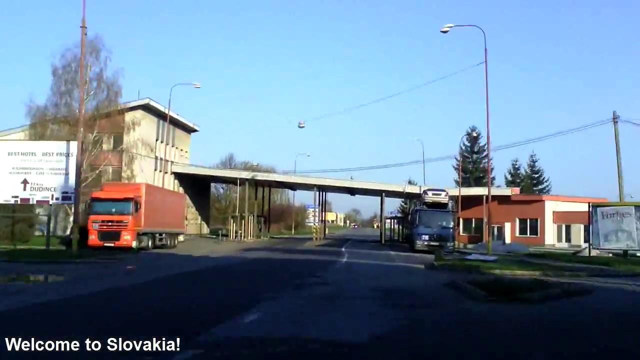 Hungary: Road 2 (E77) - Szendehely to SK border