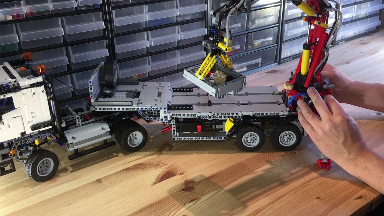 Lego technic mercedes benz arocs 3245 42043 b model for Lego mercedes benz