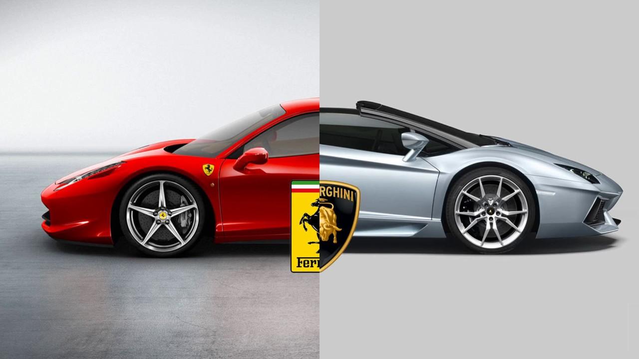 Porsche Vs Ferrari Symbol Youtube