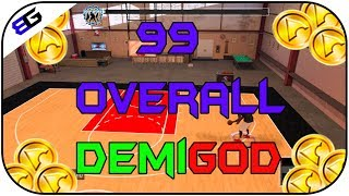 INSANE UNLIMITED 2K17 ATTRIBUTE GLITCH!!! ~ 99 OVERALL ~ UNLIMITED DEMIGOD (NBA2K17)
