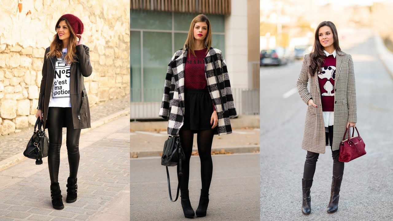 17 modern winter outfits youtube