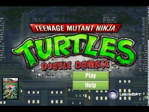 мультик игра губка боб карате драка за черепашек ниндзя часть 2