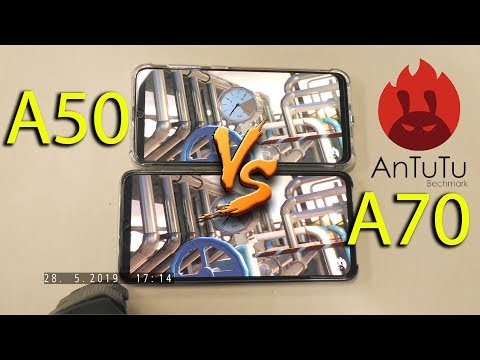 Samsung Galaxy А50 Vs Samsung Galaxy А70. AnTuTu Benchmark. Asker