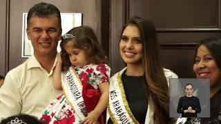 Jornal Acontece - Visita Miss Araraquara na Câmara