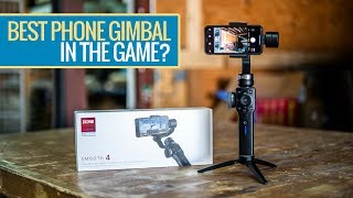 BEST PHONE GIMBAL FOR VLOGGING? - Zhiyun Smooth 4 Review