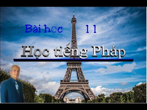 Học tiếng Pháp/Bài học 11
