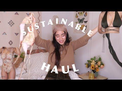 I Spent $500 On Sustainable Clothes... Bikini & Underwear Try On Haul