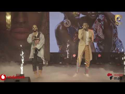 Diamond na Omarion wa-Perfom wimbo wao 'African Beaut' na kuonyesha video yao mpya
