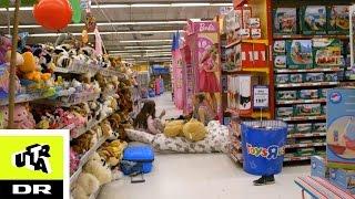 Overnatter i en legetøjsbutik |Sleepover | Ultras Bedste | Ultra