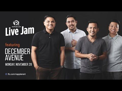 Rappler Live Jam: December Avenue