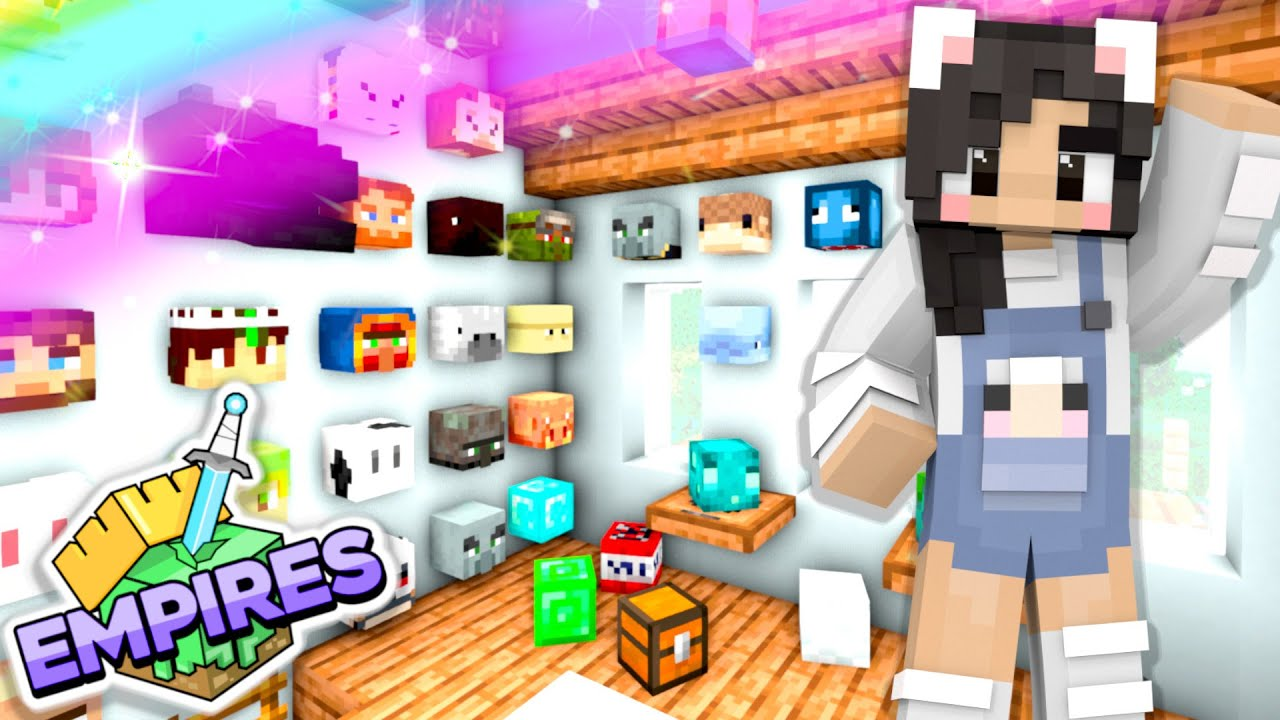 💙My Collection Grows! Empires SMP Ep.8 [Minecraft 1.17 Let's Play]