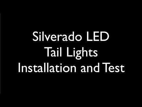 1999-2002 Silverado LED Tail Light Installation - YouTube