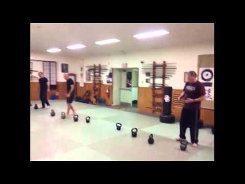 Bair Knuckle Strength - Kettlebell Class - Swings Before Sun Up :) - BKS, KIWK