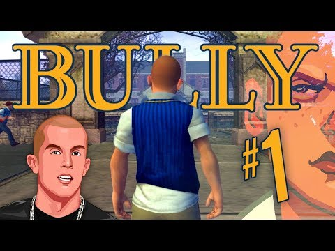 WELCOME TO BULLWORTH!!   Bully PS4 Walkthrough Part 1 (Canis Canem Edit #1)