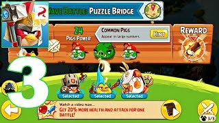 Angry Birds Epic RPG - Gameplay Walkthrough Part 3 - Bird Matilda in the Battle (Android)